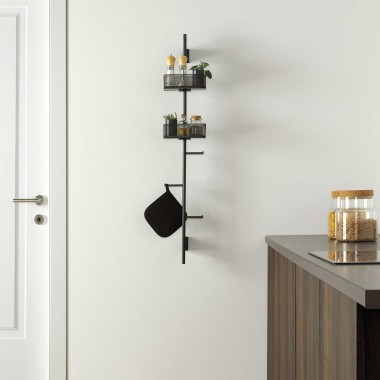 Wall-mounted organizer...
