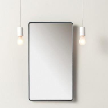 Specchio rettangolare a...