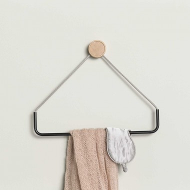 Triangular towel holder - Ring