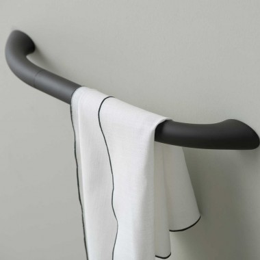 Safety towel holder 35 cm -...