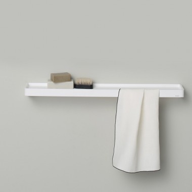 Shelf and towel holder 45...