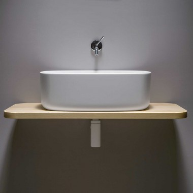 Countertop washbasin in...